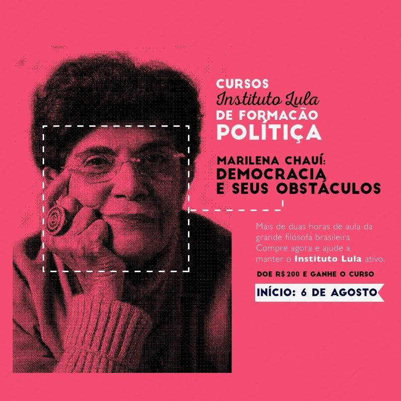 Course Image Marilena Chaui: Democracia e seus obstáculos