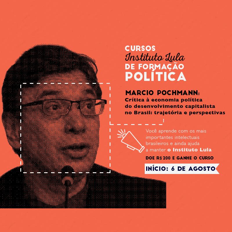 Course Image Pochmann - Crítica à economia política do desenvolvimento capitalista no Brasil: trajetória e perspectivas